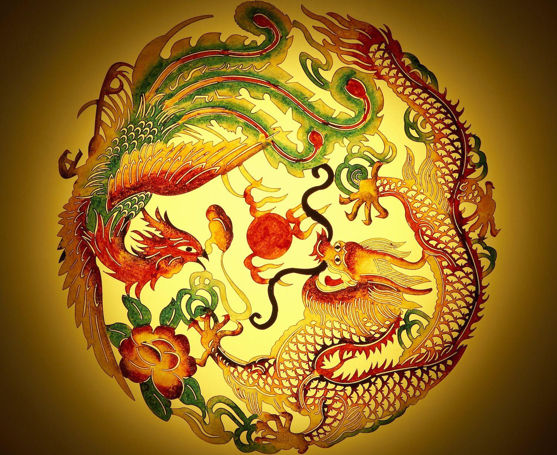 Dragon and phoenix feng shui symbol for marriage harmony buycottarizona Choice Image
