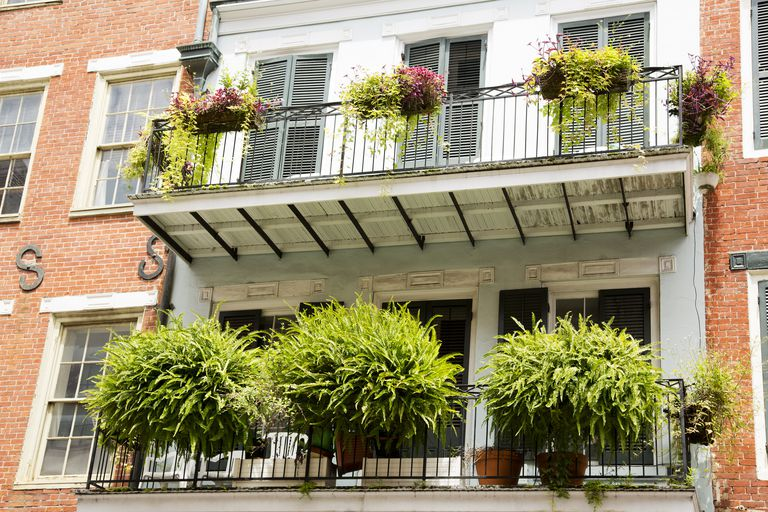 Balcony in the French Quarter, New Orleans, Louisiana