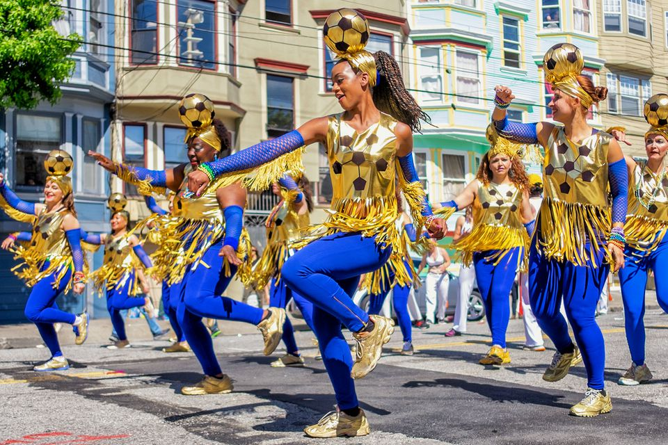 Carnaval Parade in San Francisco