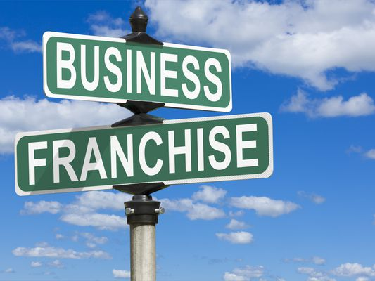 Business Franchise Street Sign