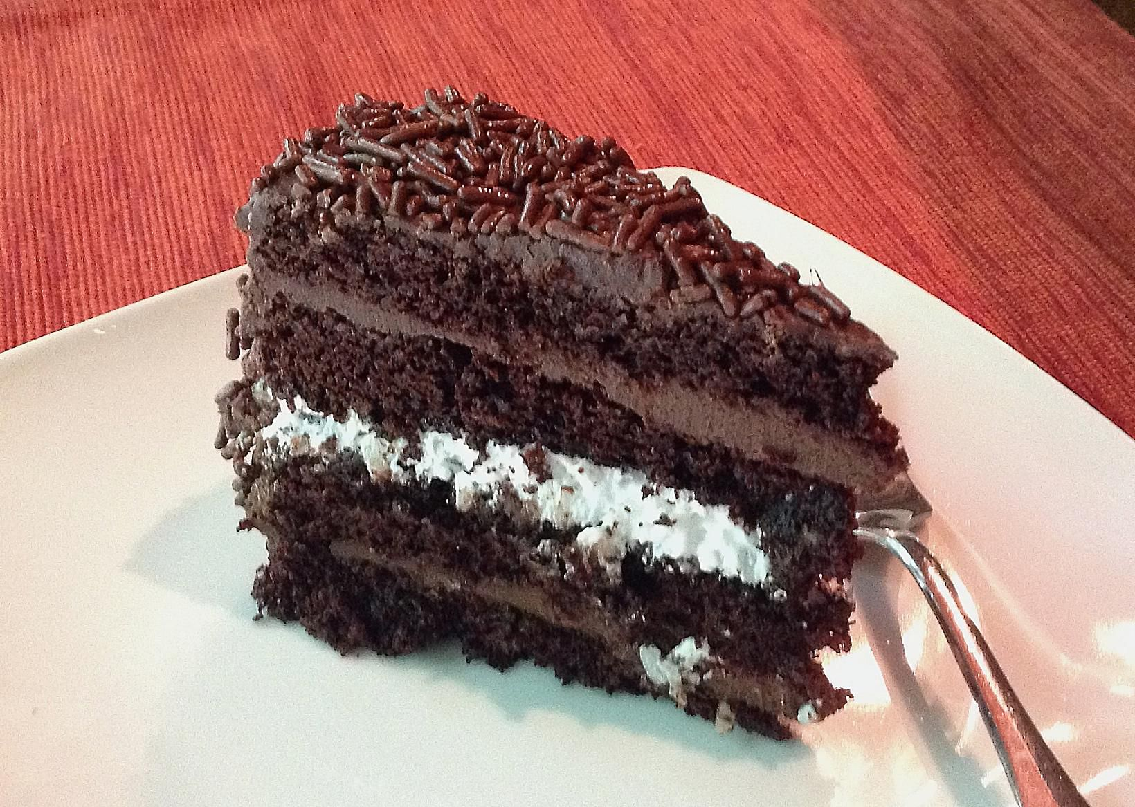 Bolo Prest 237 Gio Chocolate Coconut Cake