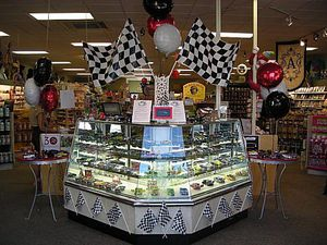 Themed Point of Purchase Display at Smith's Variety in Homewood, Alabama