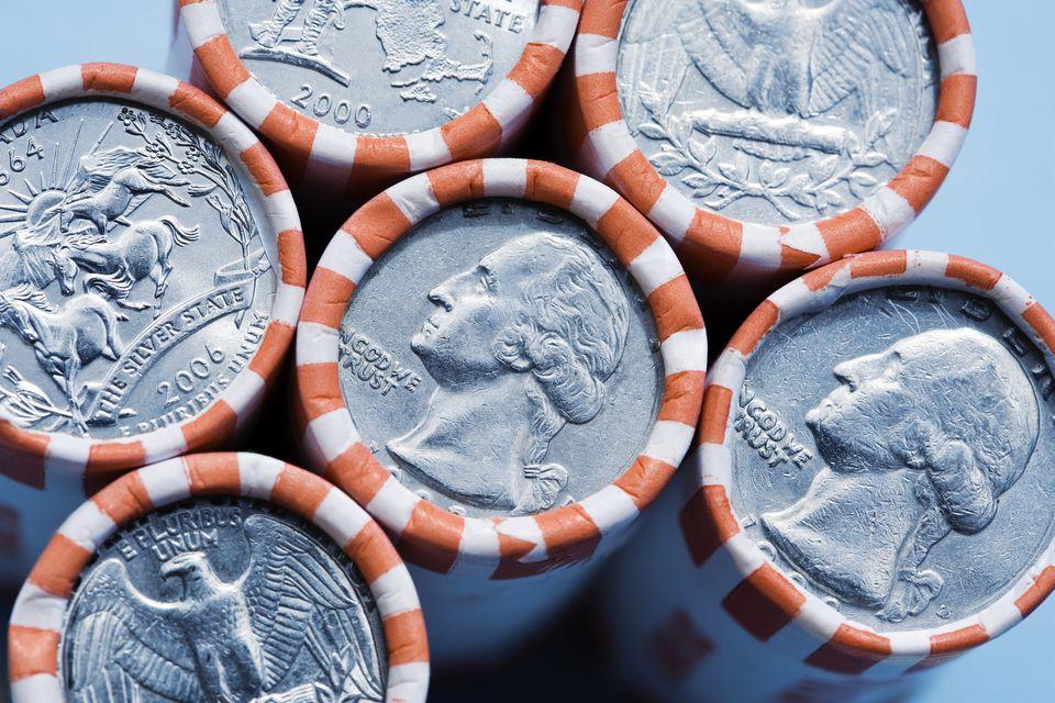 Shotgun Roll of Coins
