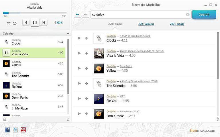 Freemake Music Box
