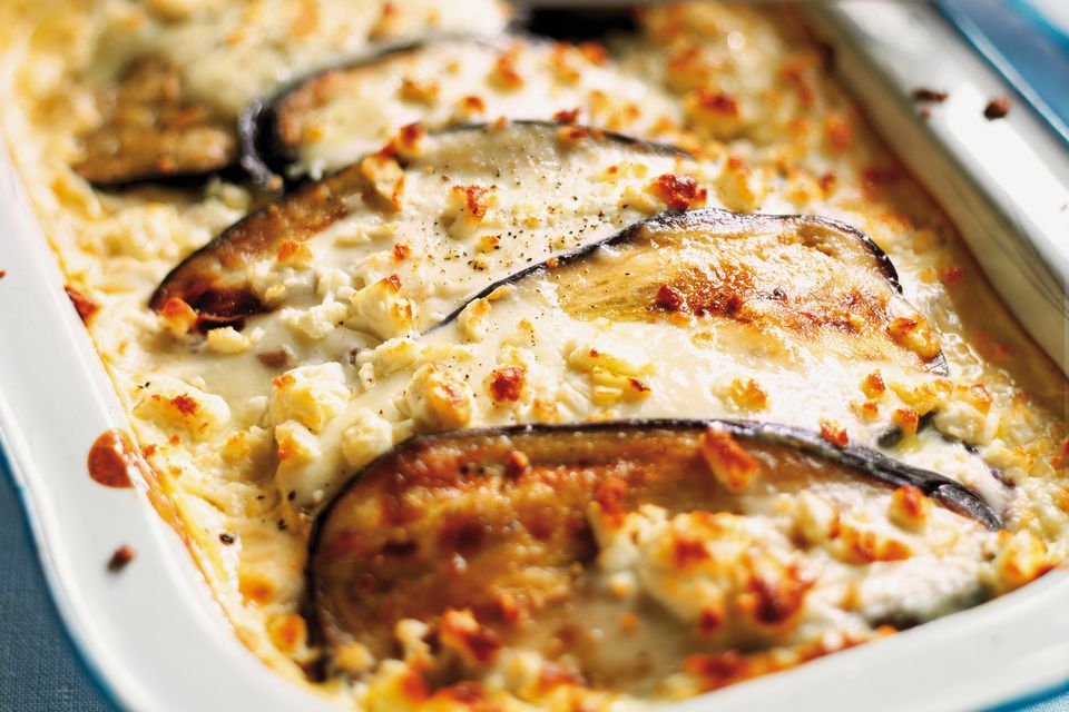 Classic greek eggplant moussaka recipe forumfinder Image collections