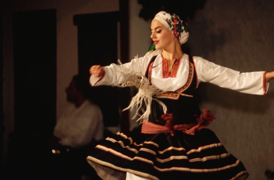 Greek Folk Dancer