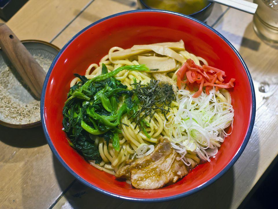 A bowl of Tsukemen