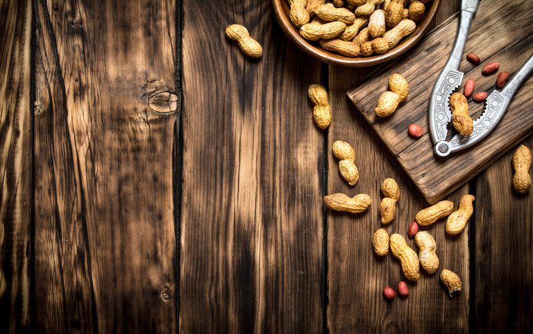 Peanuts in a bowl