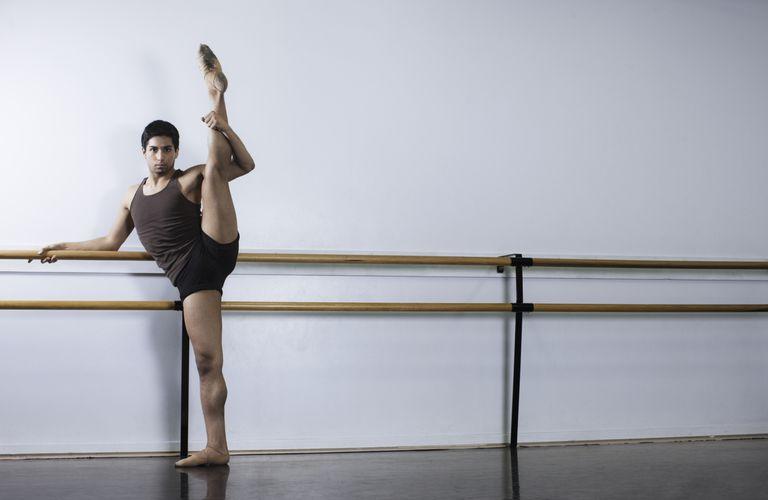 Rotación de la pierna en ballet y otros bailes