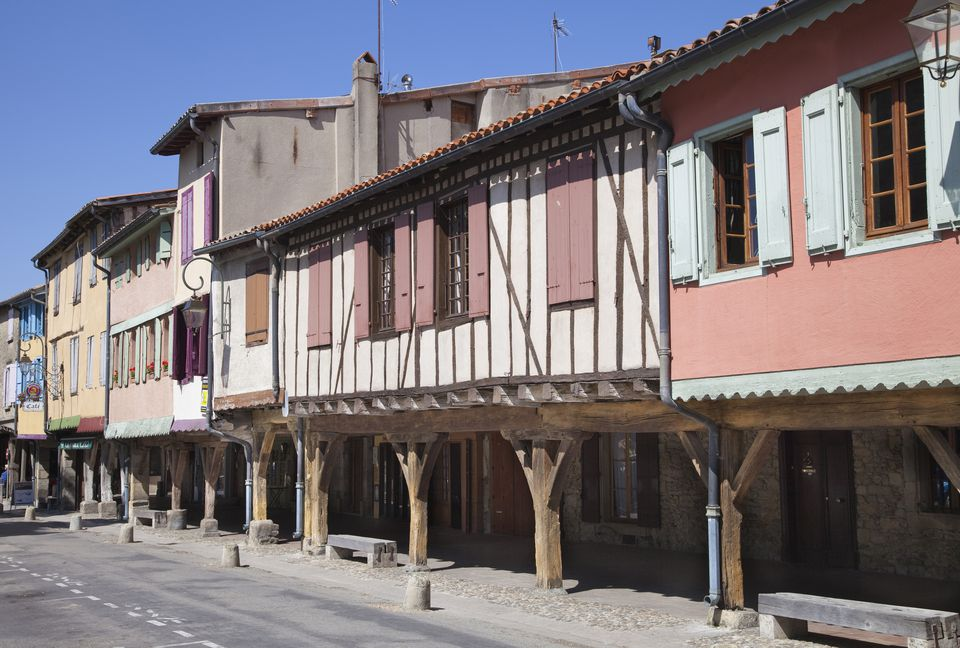 France, Ariege, the medieval bastide of Mirepoix