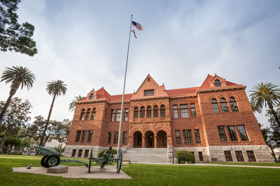 Old Courthouse Museum in Santa Ana, CA