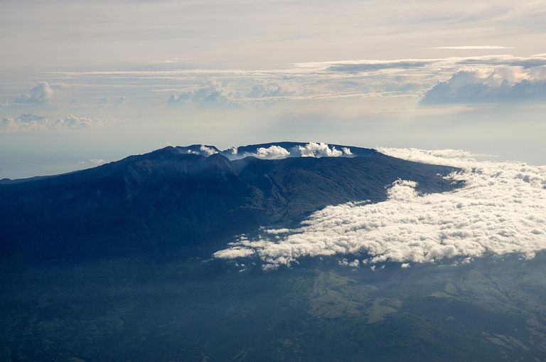 Mount Tambora is an active stratovolcano with an explosive past