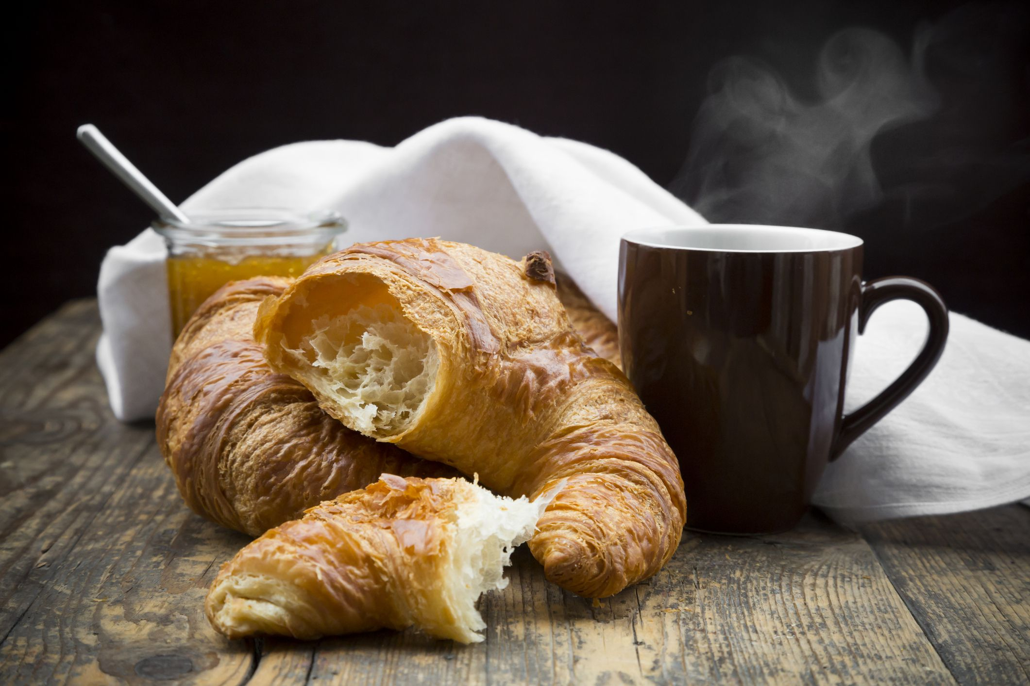 classic french butter croissant rolls recipe. Black Bedroom Furniture Sets. Home Design Ideas