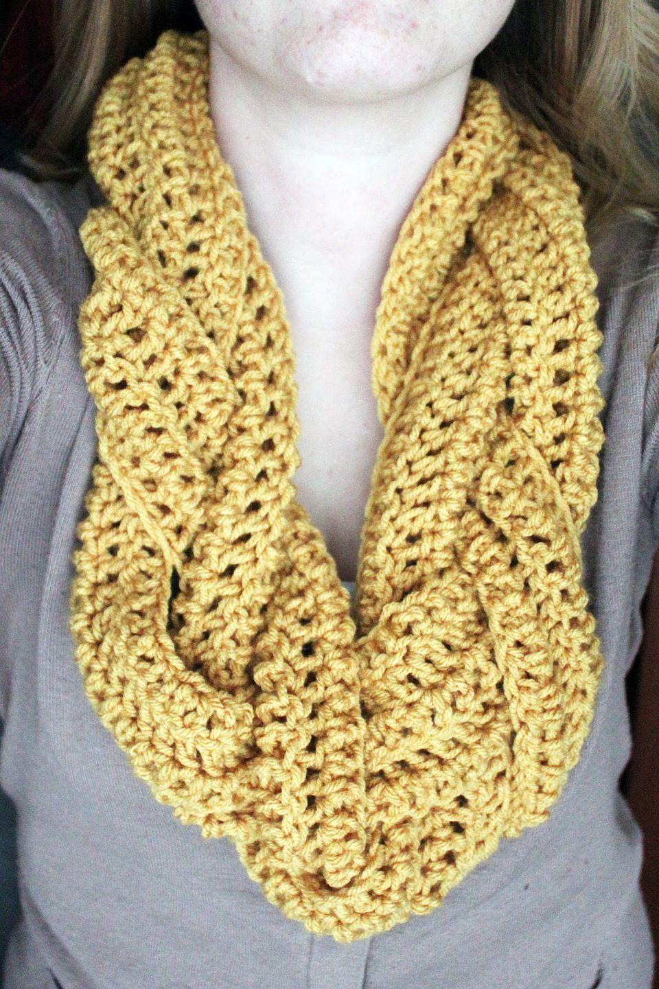braided crochet scarf free pattern