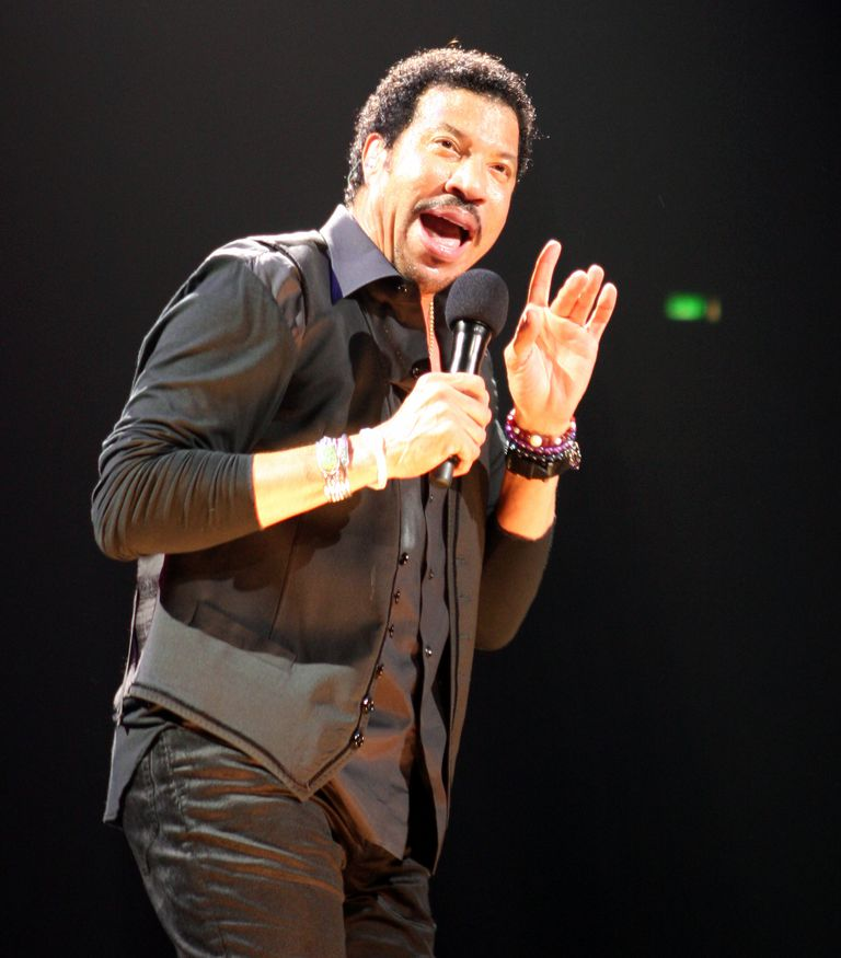 Lionel Richie performs in 2011