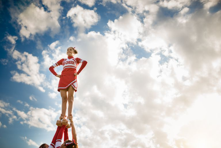 I got Cheer Captain. Quiz: Cheerleading 101