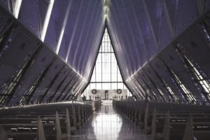 U.S. Air Force Academy, Cadet's Chapel