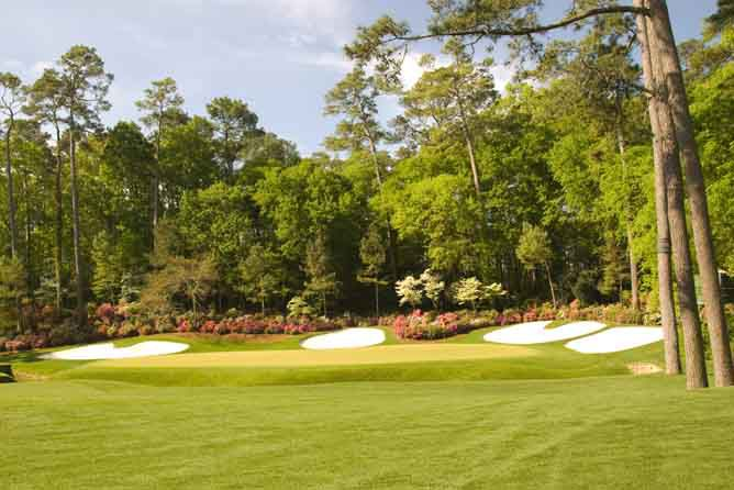 13th at Augusta National - The Masters Golf Championship