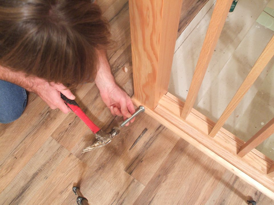 hammer nails in hardwood how to install shoe molding or quarter round
