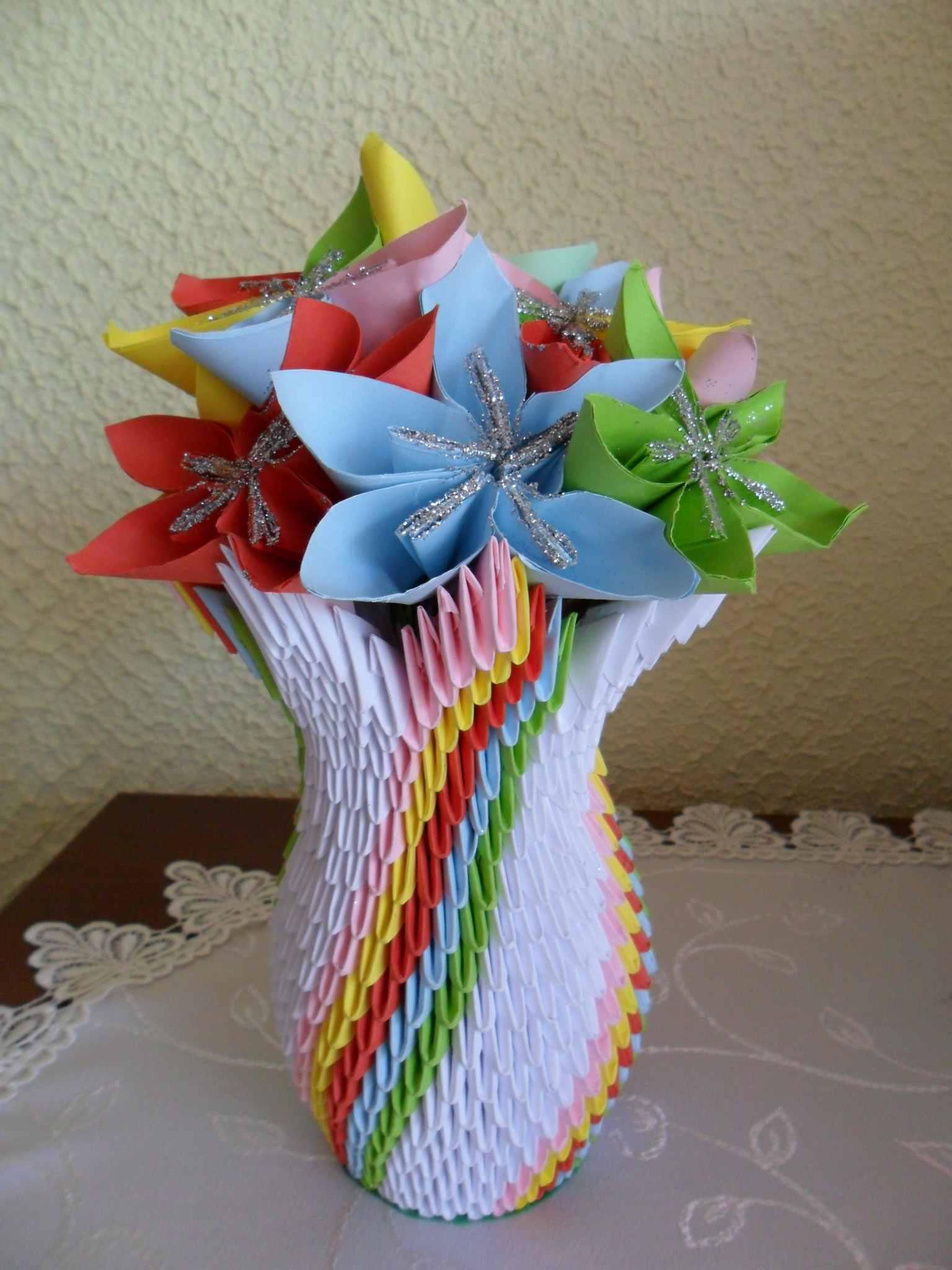 How to make 3d origami units jeuxipadfo Images