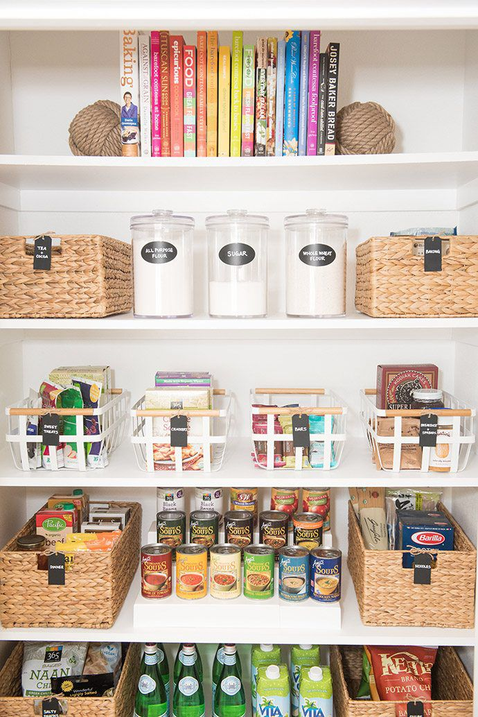 How to store cookbooks in your pantry