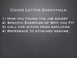 Cover Letter Essentials