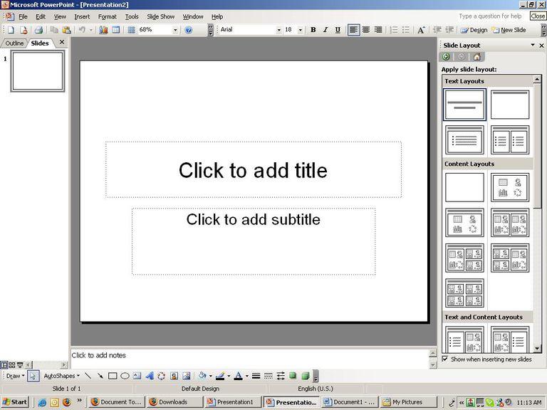 How to create a simple powerpoint presentation toneelgroepblik Images