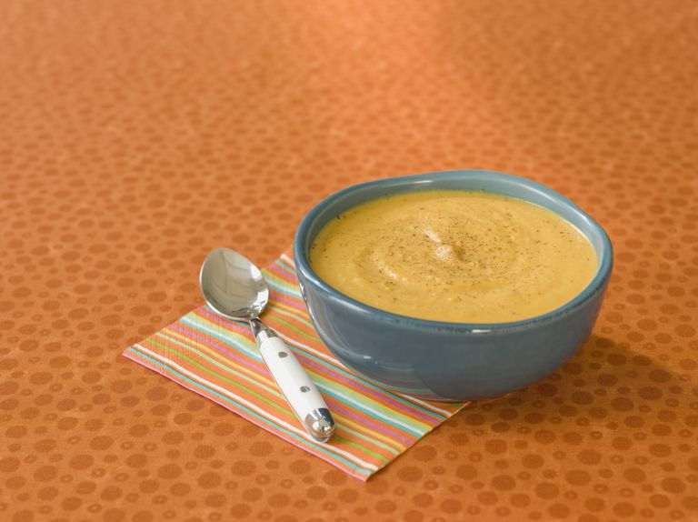 Pureed pumpkin soup is good for a pureed diet.