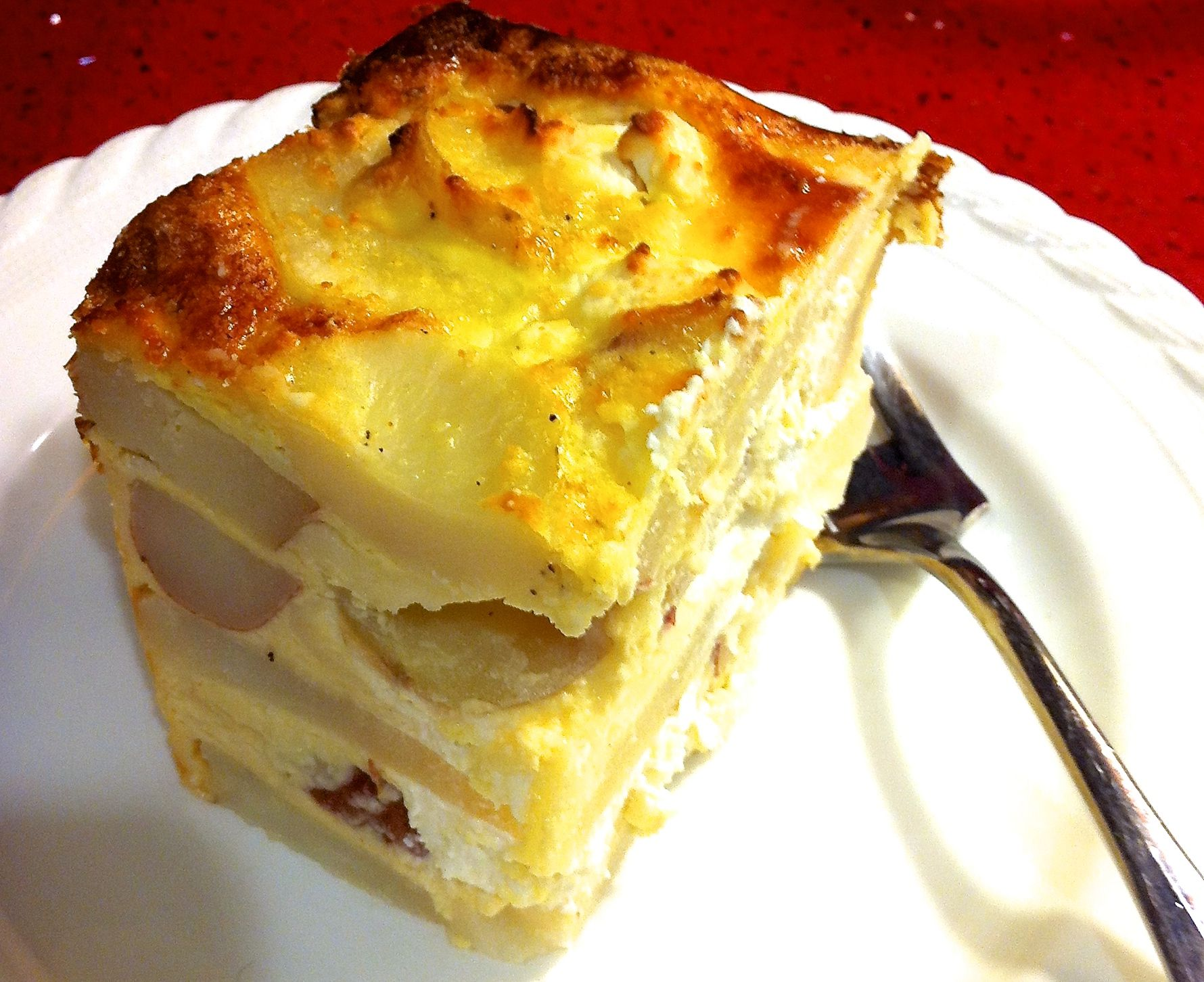 Potato And Cheese Casserole Pastel De Papas