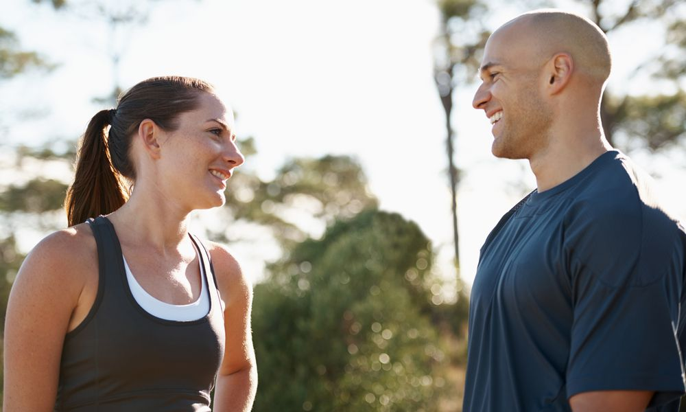 Exercise can cause a release of endorphins.