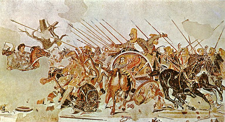 Overview of the Battle at Issus in 333 B.C.