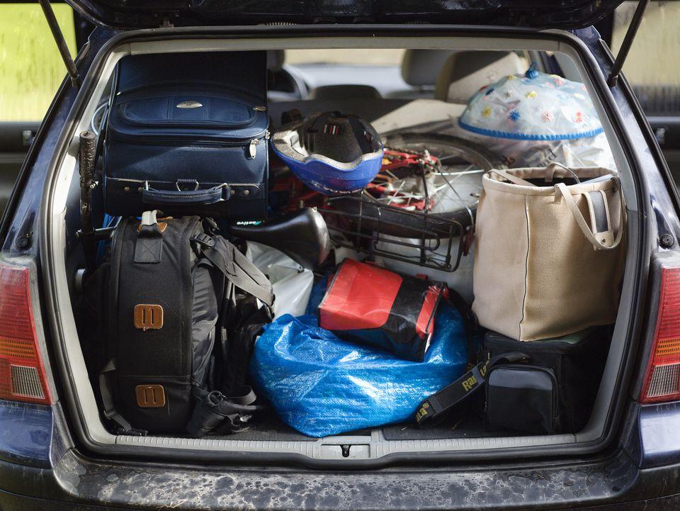 Packing a Car for a Roadtrip