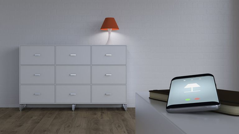 Smart light switch with smartphone app control.