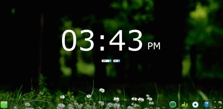 Onlive Clock