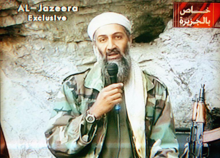 Osama Bin Laden on Television