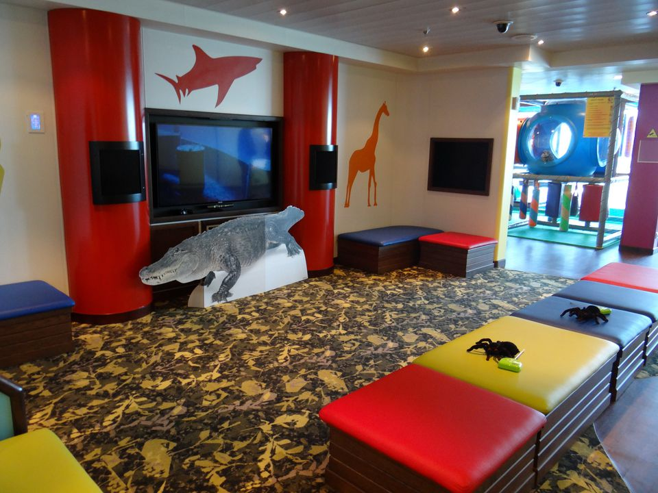 Kid's Area on the Regal Princess cruise ship