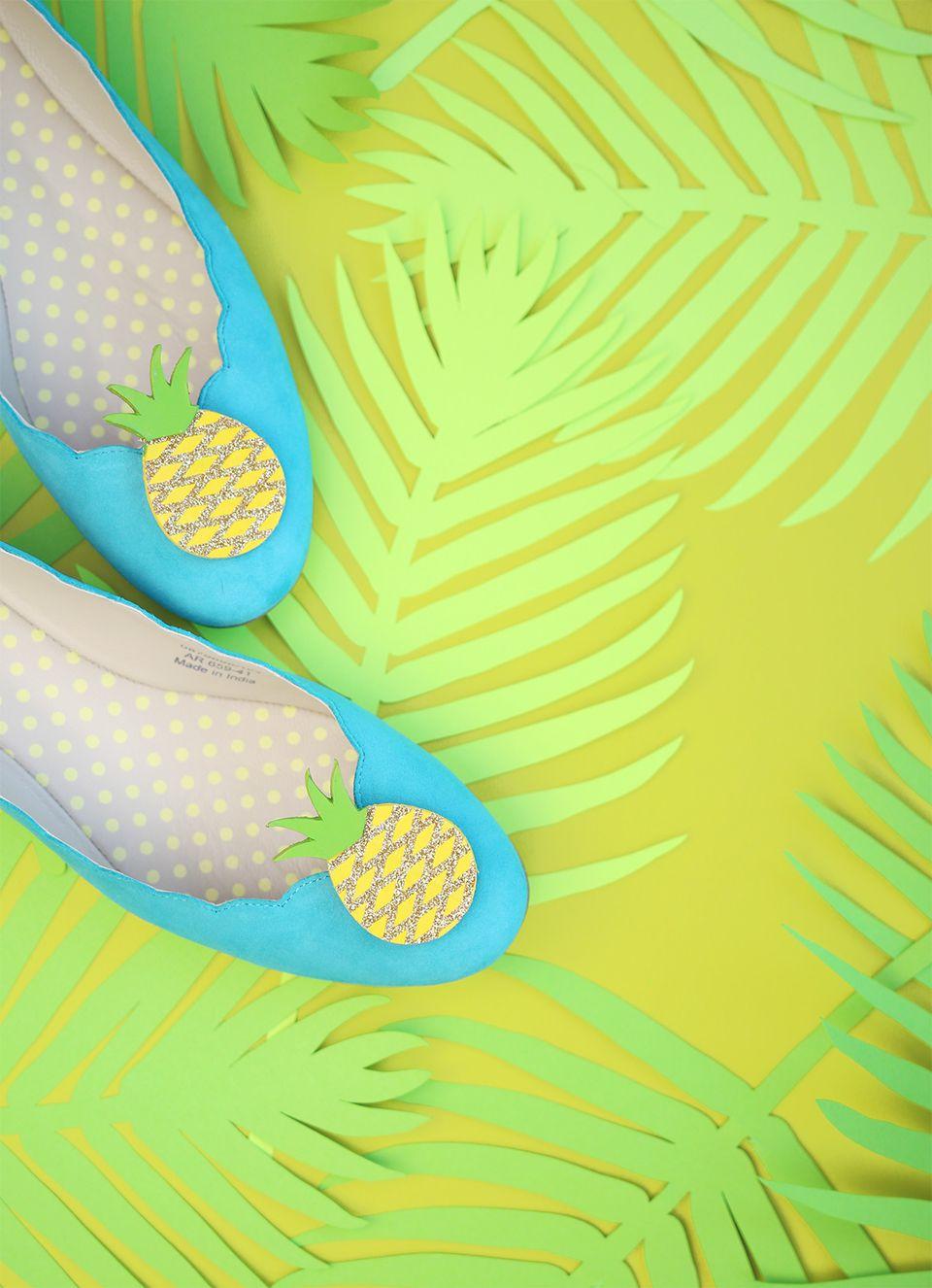 DIY Pineapple Flats