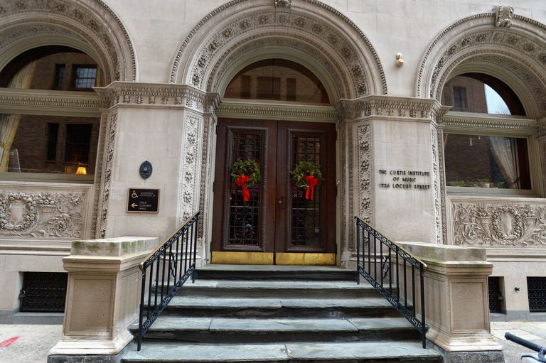 The Curtis Institute of Music in Philadelphia