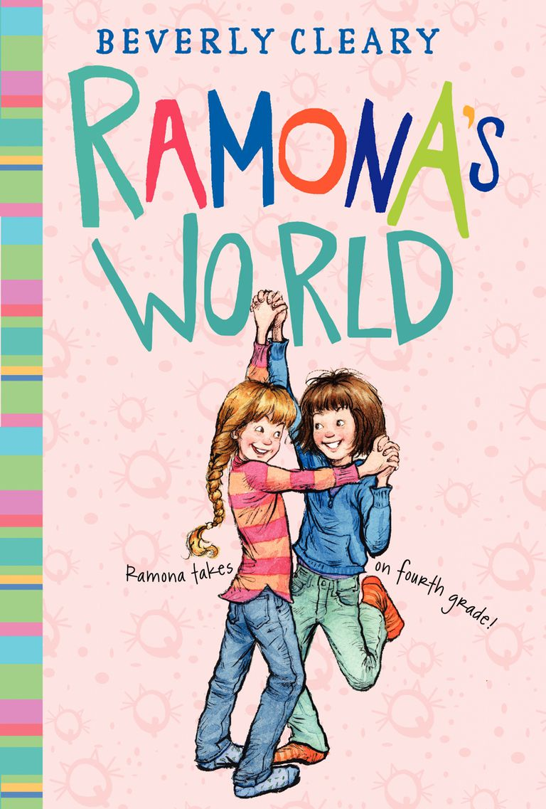 Ramona's World by Beverly Cleary - children's book cover