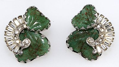 Hobe' Earrings with Marner Lampwork Beads