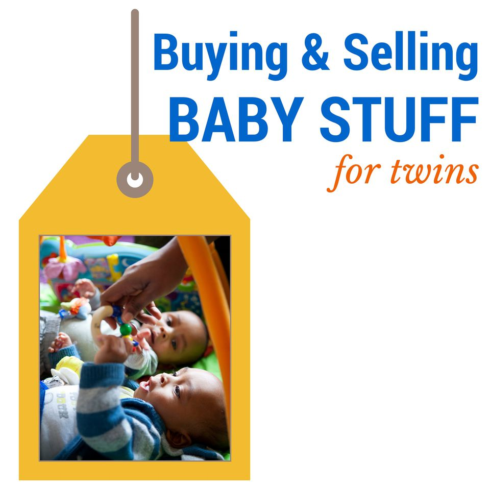 Buying and Selling Baby Stuff for Twins