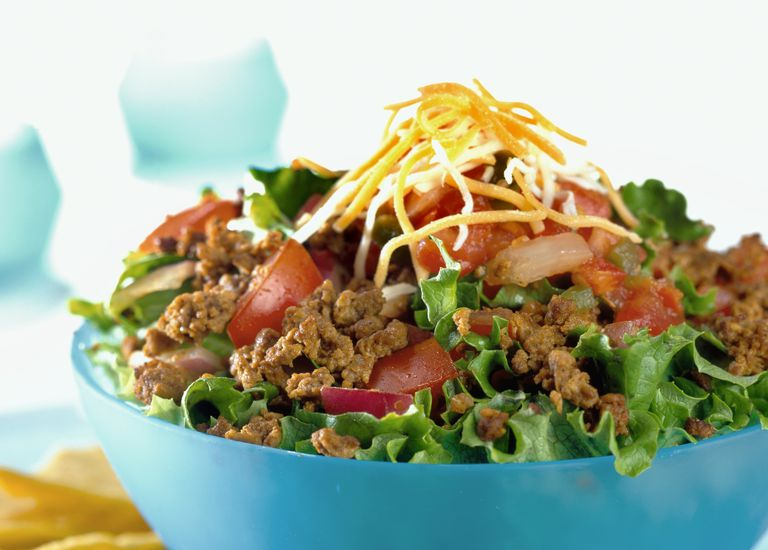 Low-Carb Taco Salad