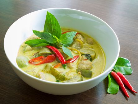 Delicious Vegetarian Thai Green Curry!