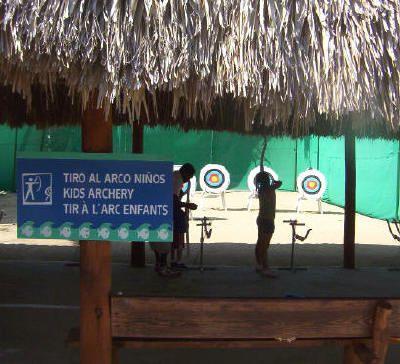 Club Med Punta Cana - Archery. Photo © Teresa Plowright.