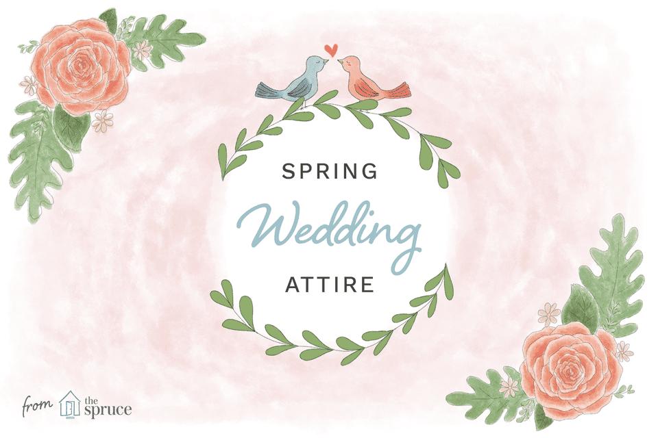 Spring wedding attire ideas