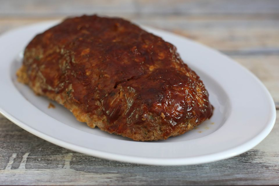 Meatloaf with Ground Turkey and Beef
