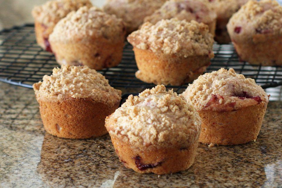 Strawberries and Cream Muffin Recipe