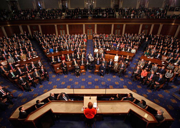 U.S. Congress inside the House of Representatives