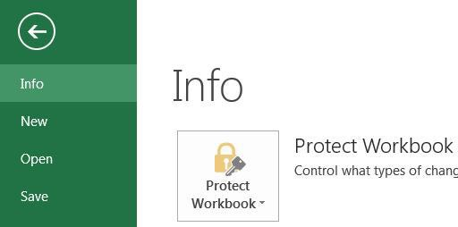 Encrypt Office 2013 Documents