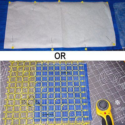 How to Cut Your Purse Fabric